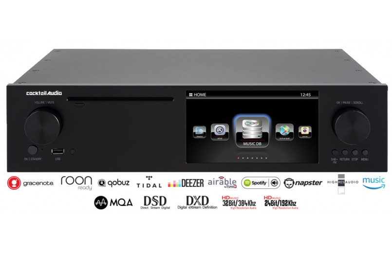 CD / STREAMER COCKTAIL AUDIO PLAYER X50D