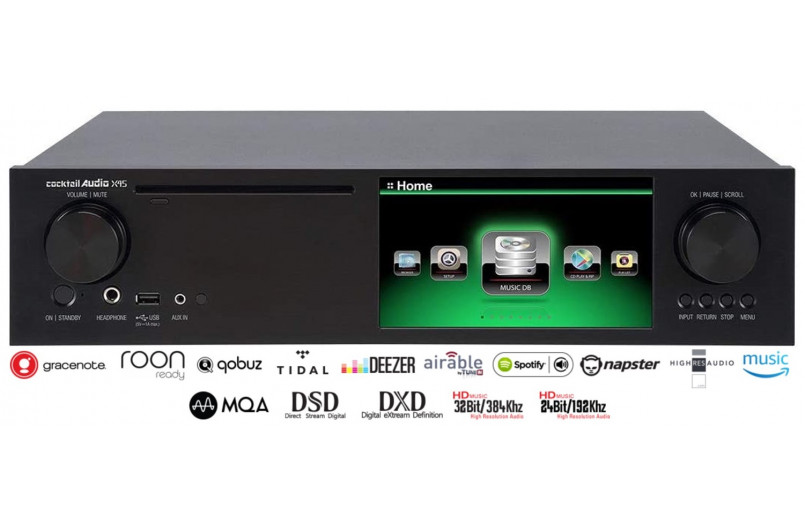 LECTOR CD/DAC/STREAMER COCKTAIL AUDIO...