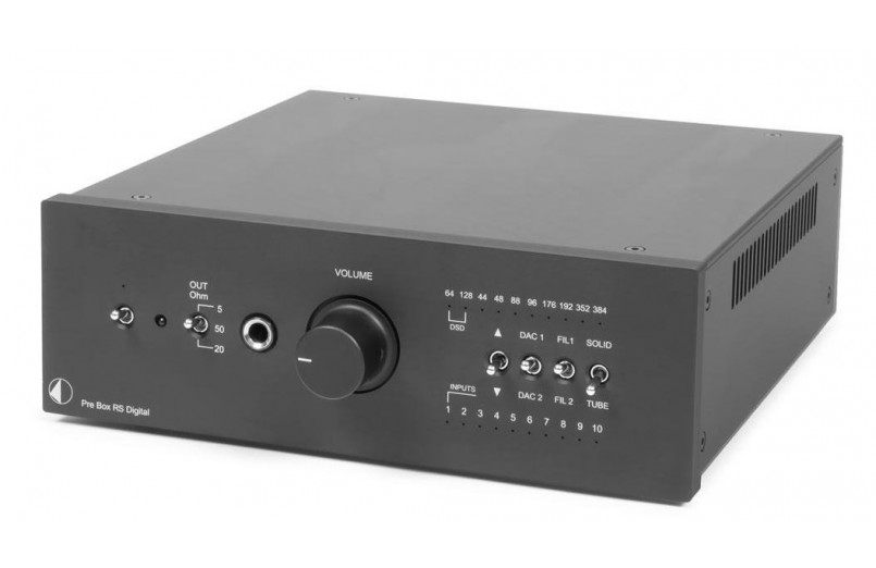PREAMPLIFIER WITH DAC PRO-JECT PRE...