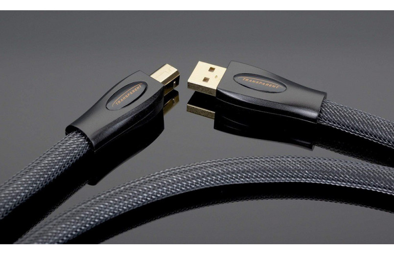 CABLE USB A-B TRANSPARENT AUDIO PREMIUM