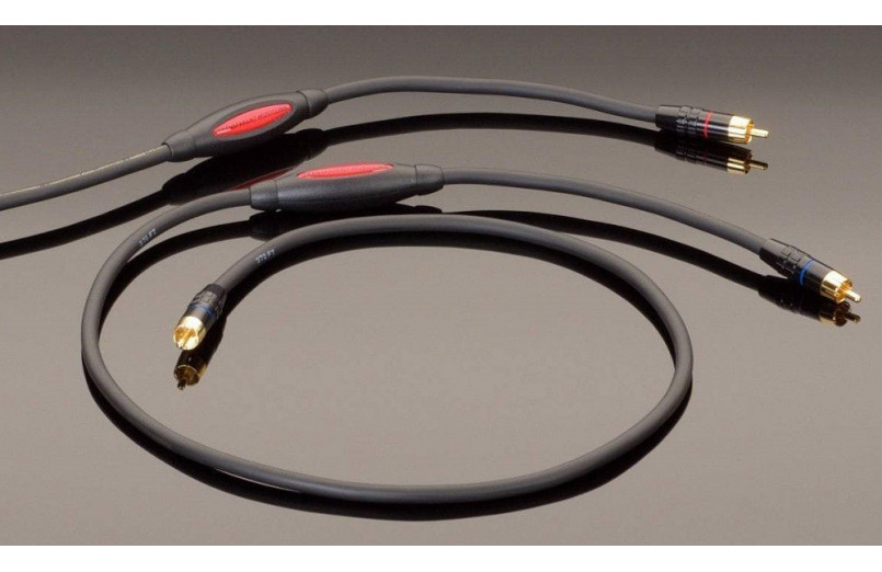 CABLE RCA TRANSPARENT AUDIO MUSICLINK