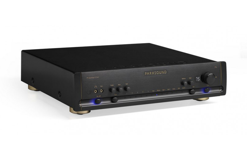 PREAMPLIFIER WITH PARASOUND HALO P6 DAC