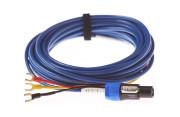 SUBWOOFER CABLE REL ACOUSTICS BASS LINE BLUE